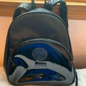 793d9d8945 Versace Parfums backpack!